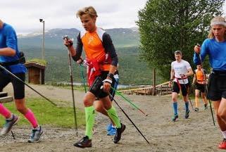 Juniorklasser i Nordmarka Skogsmaraton